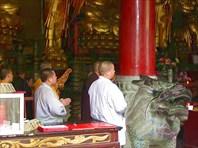 Служба в Шаолинском монастыре