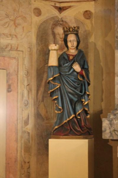 Скульптура Святая Варвара