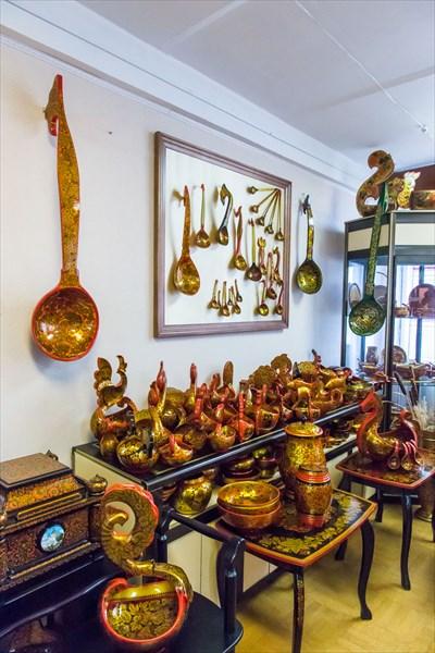В музейно-туристическом центре Золотая хохлома
