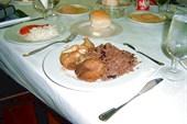 Комплексный обед - черный рис на гарнир