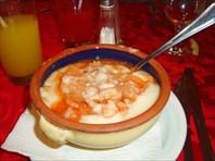 Суп-пюре из креветок цена 4 CUC