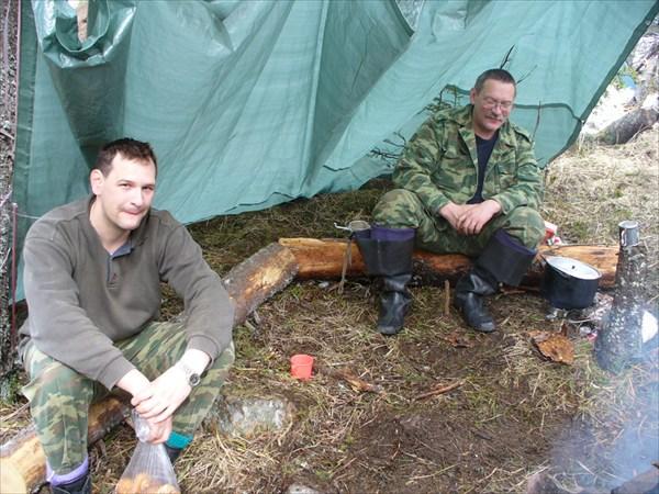 Кухня в лагере
