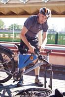 Олег и велосипед