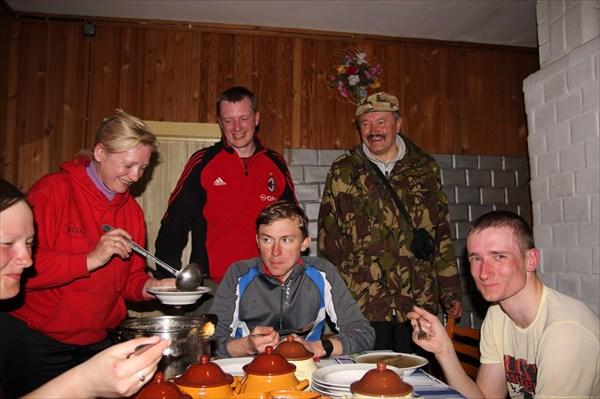 На подворье в Беловежской пуще