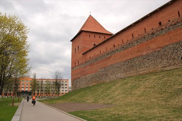 Крепость в Лиде.