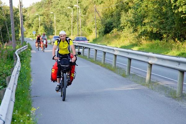 Выезжаем велодорожками из Трондхейма
