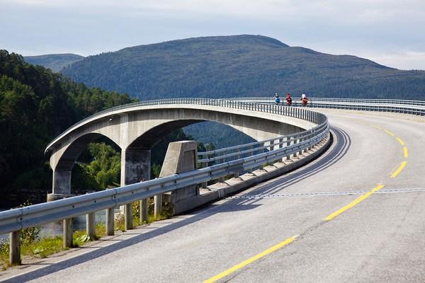 Чудо мосты вместо паромов!