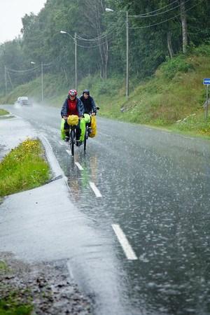 Настоящая норвежская погода!