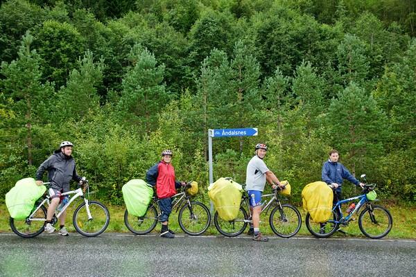Велодорожка на Андалснес