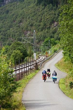 Велодорожка на Берген.