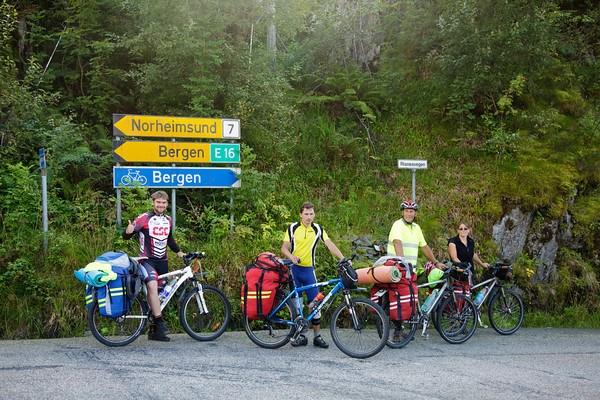 Ура! Продолжение велодорожки на Берген!