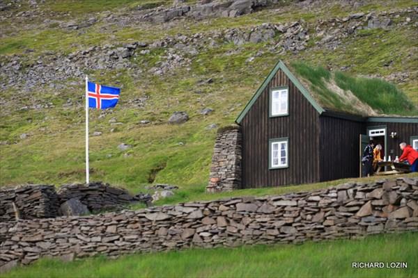 Исландия. Западные фьорды. Вдоль дороги