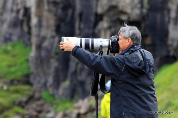 Японский турист с Canon 200-400
