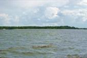 Панорама острова с катера