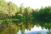 Внутреннее озеро острова