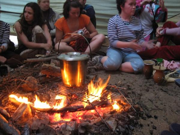 Вечерний ритуал - заваривание чая, мате, лапачо, катуаба, какао.