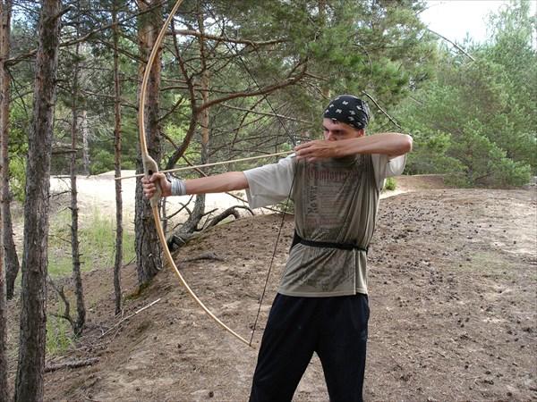 Занятие стрельбы из лука