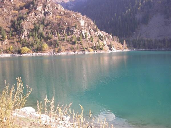 Озеро Иссык - южная сторона.