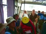 Автобус. Из Симферополя до Перевального добирались автобусом.