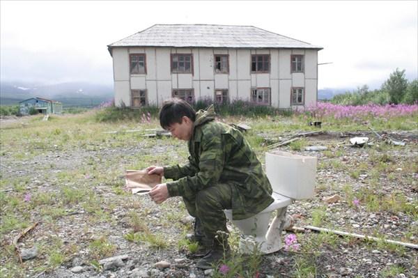 Мечта о цивильном туалете
