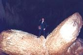 сломанный сталактит