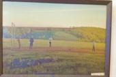 Картины местных мастеров в музее при усадьбе Борки