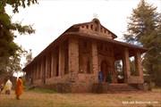 Церковь Дебре Берхан Селассие, находящаяся в Гондоре