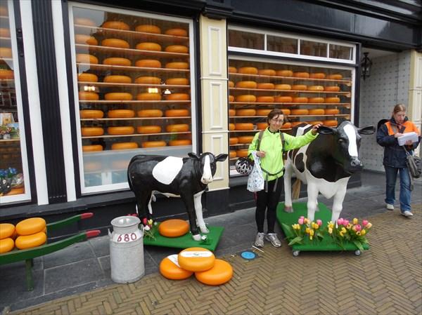 Сырный магазин в Делфте