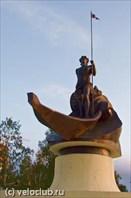 На набережной Петрозаводска.