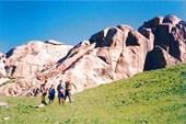 Геологические формы в Правом Каскелене