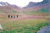 Долина между перевалами 3800 и 3700