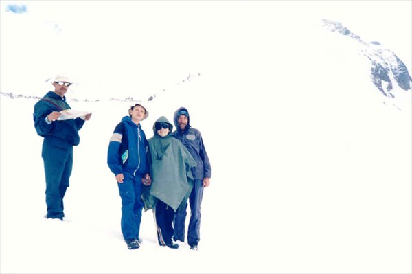 На перевале Грудзинского