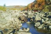 Река Эльморайок в верхнем течении