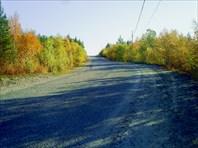 Дорога из Ревды на рудник