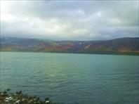 Вид на Сейдозеро с южного берега
