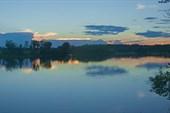 Вечер на острове Рыбинский