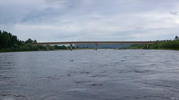 Мост через Бирюсу у Шелехово