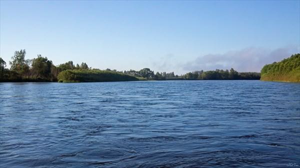 Бирюса. Протока Хламовая