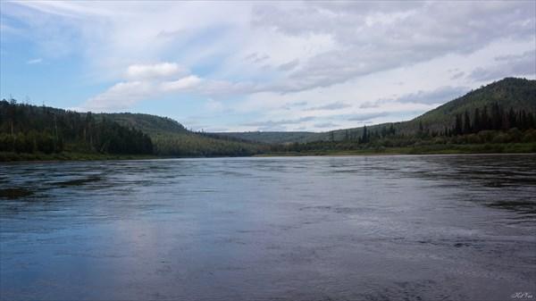 Бирюса перед притоком Торпачет