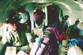 В вертолете на Хипсту. Февраль 2002