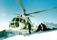Выброска из вертолета