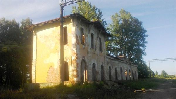 Бывшая станция Веребье