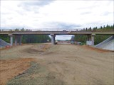 Строят скоростную дорогу Москва - СПб