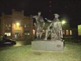Памятник у станции