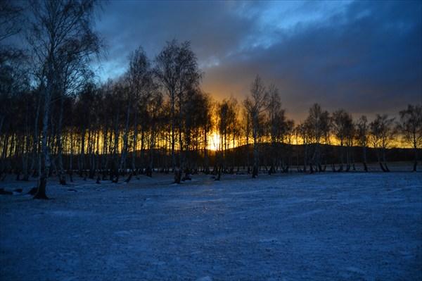 Рассвет в муракаево