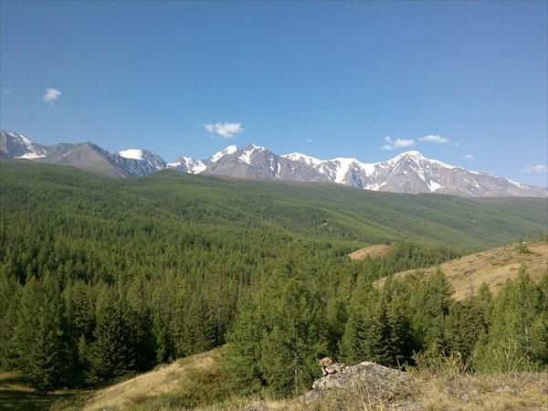 Вид на горы с Перевалки
