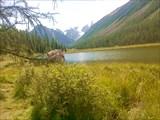Чудесное теплое озеро