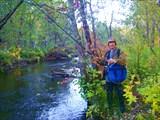 С утра на реке в полном снаряжении