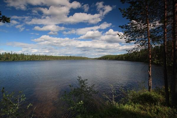 Озеро Макры-Ламбина