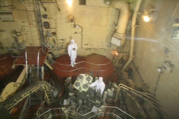 На ледоколе Ленин. Реакторный зал